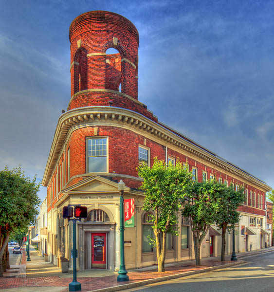 South Boston Town Hall 1800's ... South Boston, VA