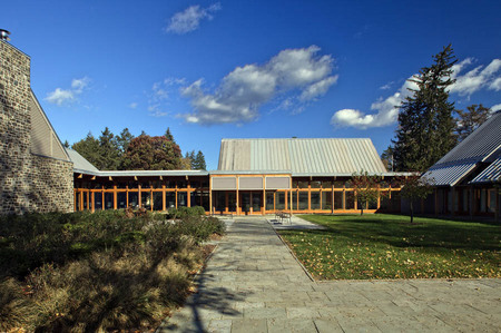 Franklin D. Roosevelt Presidential Library and Museum Visitor Center ...  Hyde Park, N.Y.