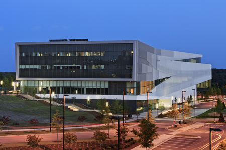 James B.Hunt Library at NC State ... NCSU, N.C.