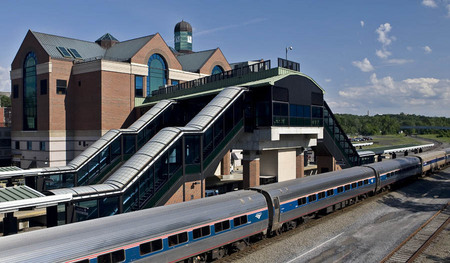 Albany-Rensselaer Amtrack Train Station ...  Rensselaer, N.Y.