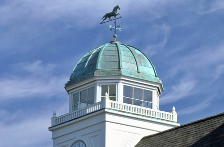 Custom Copper Clock Dome ...  Saratoga Springs, N.Y.